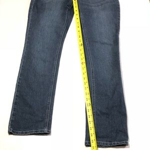 Massini Jeans - Massini Size 8 Rhinestone Straight Leg Jeans